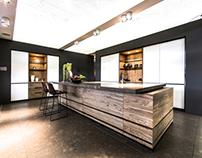 Oliva kitchen design for Tinello