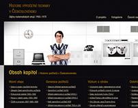 Web Design 2009 – 2011