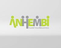 Anhembi Hostel & Business logo animation
