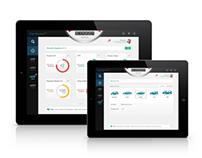Car Service 2.0 (Apple iOS iPad Application)
