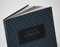 Caslon Type Specimen
