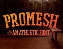 PROMESH - A Free Athletic Font