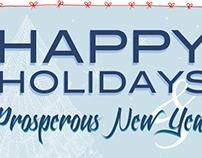 Cartões de natal e ano novo