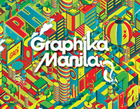 "Graphika Manila 2013 Book Cover ""Let's Color Manila"""