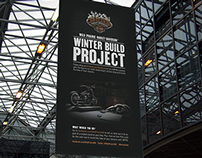 Harley-Davidson Banner - Winter Build Project - 2013