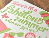 Summer Business Card Greeting!