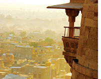 Posters promoting Jaisalmer