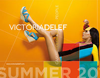 Victoria Delef Summer 2013 Displays