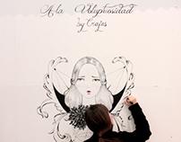 """""""A la voluptuosidad"""" mural and more"""