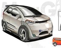 City Car Project - MiniGoo