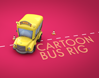 Cartoon Bus Rig