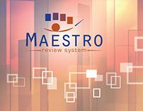 Web Design: MAESTRO Application
