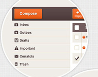 Email Webapp UI Design