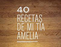 40 recetas de mi tía Amelia
