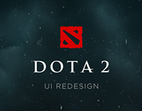 DOTA 2 - Interface Redesign