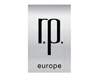 R.P.Europe, logo oraz elementy identyfikacji wizualnej