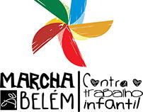 Marcha de Belém contra o trabalho infantil logo