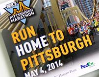 Pittsburgh Marathon Branding & Literature