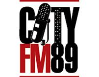 Designs for CityFM89