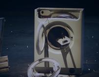 """Citroen: """"Put a brick in a washing mashine"""""""