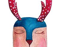 Antlers obsession - illustration