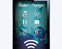 BeatsforHunger - Music Festival Branding