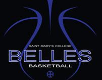 Saint Mary's College Basketball Team Logo