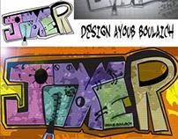 JOKER GRAFITI step by step
