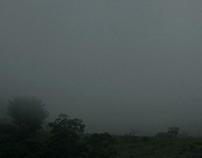 Haze on the mountain