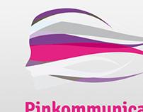 Pinkommunication Logo Design