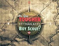 Are you tougher than a Boyscout?