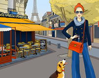 Walks in Paris - an application for iPad