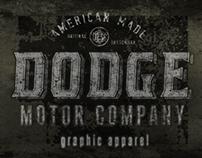 Dodge Vehicles - Apparel Design