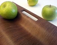 Wood Laminated Fruit Tray