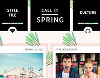 Call It Spring blog