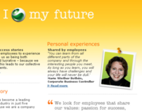 You're Hired! - Corporate recruitment site