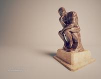"Rodin ""The Thinker"" et gyrofocus"