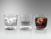 Drinking Glass Mockup
