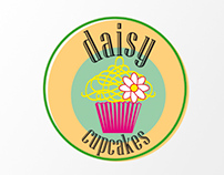 Daisy Cupcakes Logotype & Business card