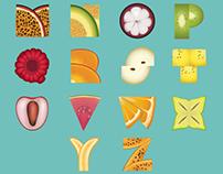 Fruity Alphabet