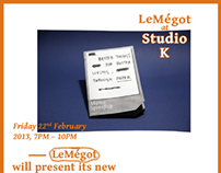 LeMégot's launch – Posters
