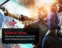 artinstitutes.edu redesign - BioShock