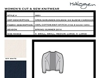 Cut and Sew Capsule Collection for Halogen