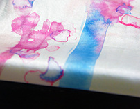 Watercolor :: Silk Scarf