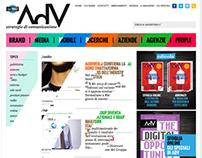 AdV - Strategie di Comunicazione / website restyling
