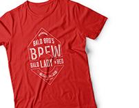 Logo Design and Branding For Bald Bros Brew