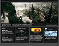 Solid Angle Website design