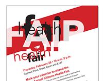 Health Fair Poster 2013