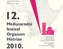 Organ music festival poster