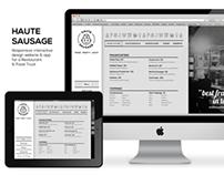 Haute Sausage Responsive Web Design